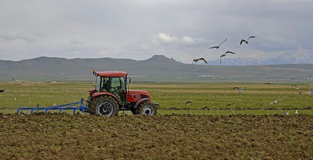Çiftçiye şubat ayında 3 milyar 24 milyon lira tarımsal destek