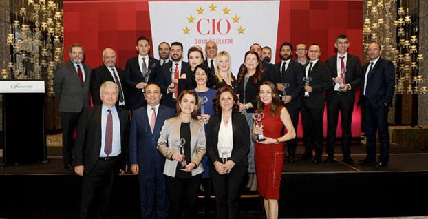 En başarılı CIO'lar ödüllerine kavuştu