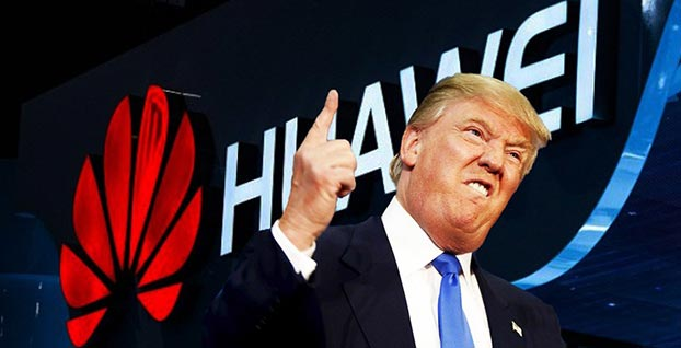 Trump şimdi de Huawei'yi gözüne kestirdi!