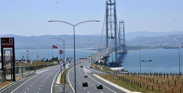Osmangazi Köprüsü'nün 2019 yılı geçiş ücreti belli oldu