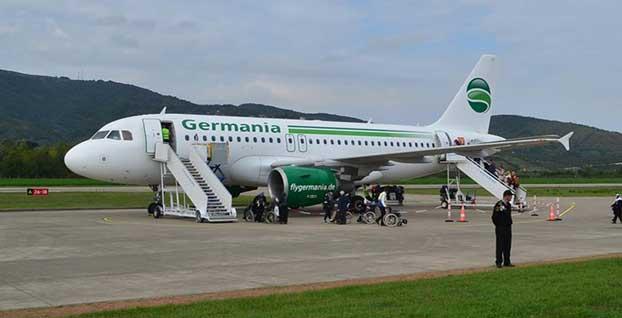 Alman hava yolu şirketi Germania iflas etti