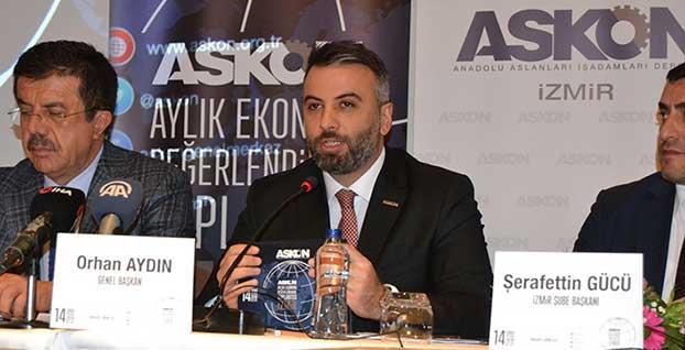 ASKON Genel Başkanı Aydın : 2019 yılını enflasyonla mücadele yılı ilan ettik