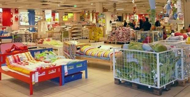 Ikea'da mobilyaları kiralama dönemi