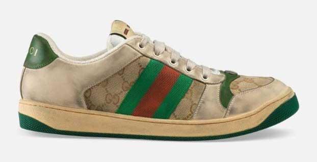 Moda devi bu kez de 4 Bin 600 TL'ye sattığı kirli spor ayakkabılarla gündemde!