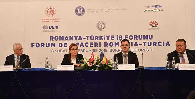 'Romanya ile ticaretimizi 10 milyar dolara ulaştırmayı hedefliyoruz'