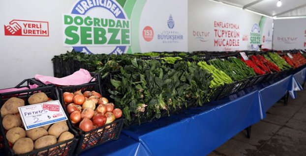 Tanzim satışa 14 bin ton meyve ve sebzeden en çok rağbet ona oldu