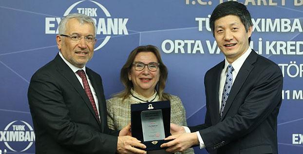 Türk Eximbank'a, ICBC Turkey Bank'tan 350 milyon dolarlık fon