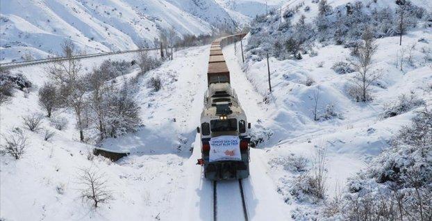 Rusya ve Çin'e gidecek ihracat trenleri Erzincan'a ulaştı