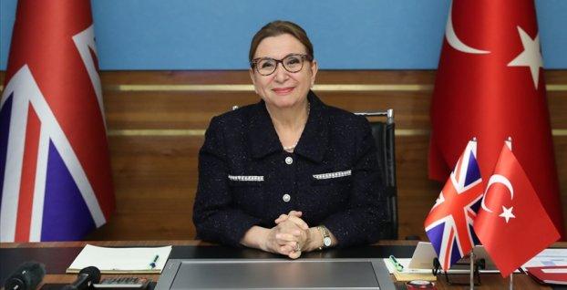 Ticaret Bakanı Pekcan, Antalya Diplomasi Forumu'nda İngiltere ile imzalanan STA'nın önemine değindi