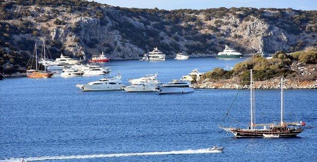 Yat turizminde rezervasyonlar yüzde 70'e ulaştı