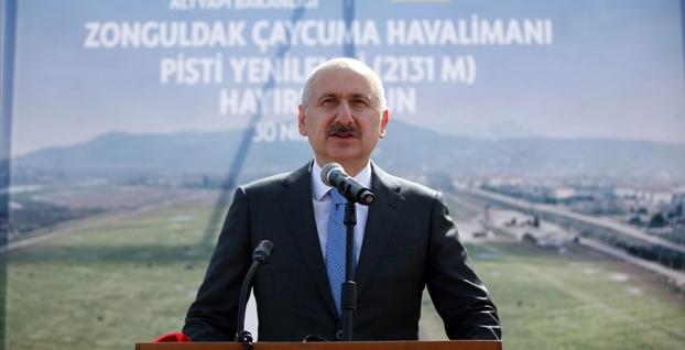 Karaismailoğlu: Türkiye'yi her noktasından dünyayla yakınlaştırdık