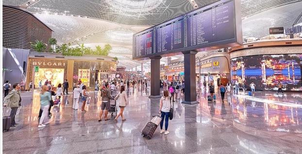 'Dünyanın En İyi 10 Uluslararası Havalimanı' kategorisinde yarışacak