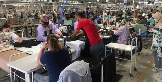 Tekstil ürünleri imalatı endeksinde dev rekor