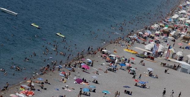 Turistlerin gözde ilinde  yarım milyondan fazla turist tatil yaptı