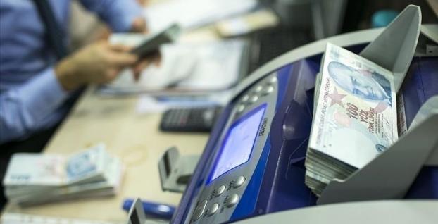 Bankacılık sektörünün mevduatı 2,4 milyar lira arttı