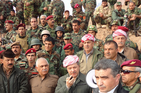 Barzani konsolosları topladı