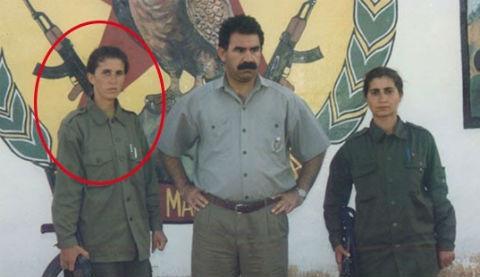 Sakine Cansız'ın Öcalan ile olan fotoğrafı