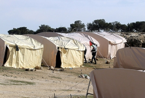 Netanyahu'dan çadırların kaldırılması talimatı