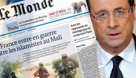 Erdoğan'ın çıkışı Fransız basınında manşetlerde