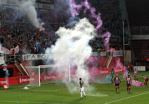 Fenerbahçe'den Trabzon seyircisine tepki