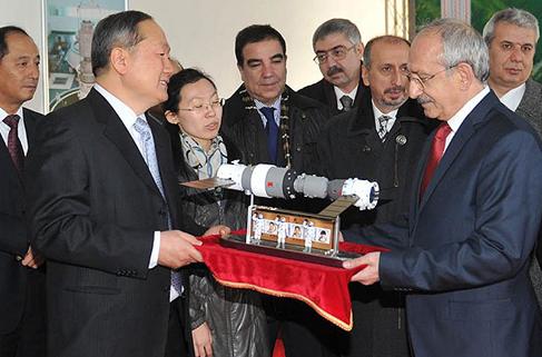 Kılıçdaroğlu Uzay Akademisi'ni ziyaret etti