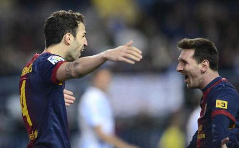 Barcelona dolu dizgin: 1-3