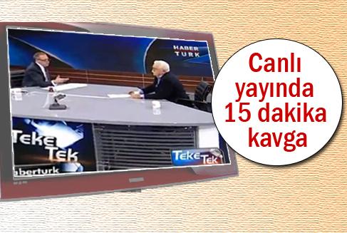 Fatih Altaylı ile Levent Kırca'nın 'Sen salaksın' muhabbeti (Video)