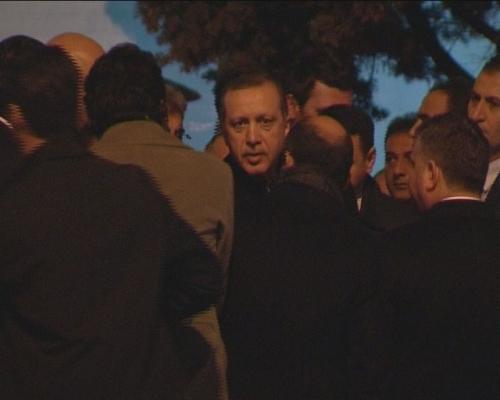 Başbakan Erdoğan taziye ziyaretinde
