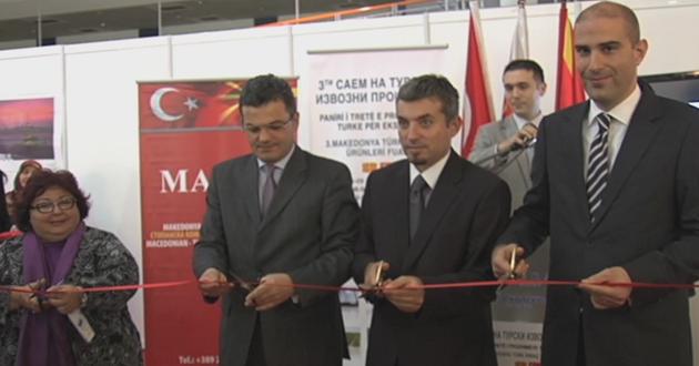Türk ihraç ürünleri Üsküp'te görücüye çıktı