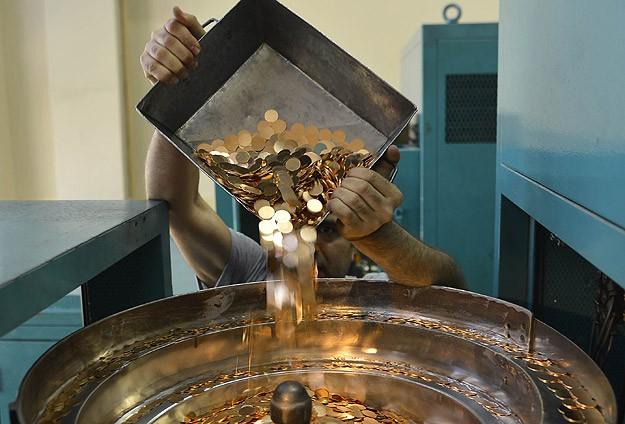 Darphane'de altın üretimi son 15 yılın en düşük seviyesinde