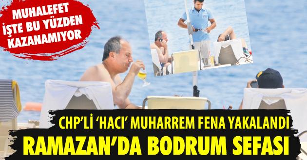 Takvim gazetesi Muharrem İnce'yi fena yakaladı