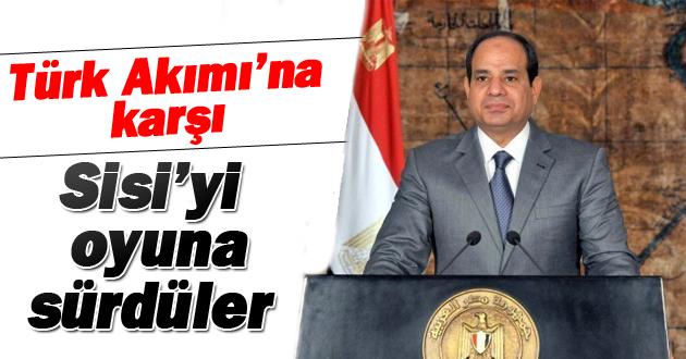 Türk Akımı'na karşı Sisi'yi oyuna sürdüler
