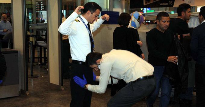 Atatürk Havalimanı'nda önlemler en üst seviyede