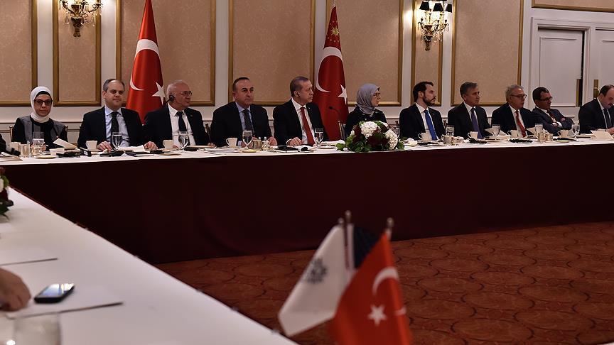 Erdoğan: ABD'nin yanımızda olduğunu düşünmek istiyoruz