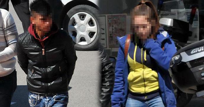 Liseli kızı otogarda yardım çığlığı kurtardı