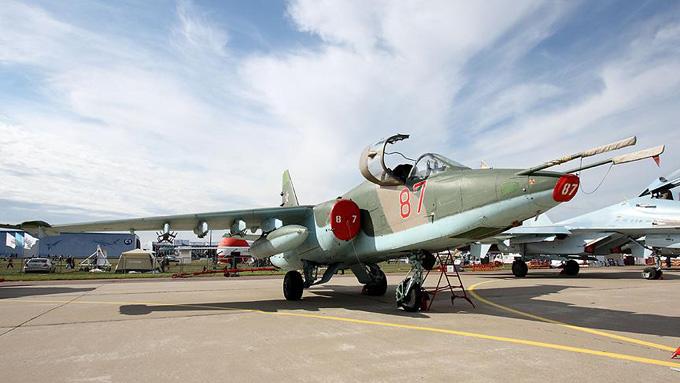Rus savaş uçağı düştü