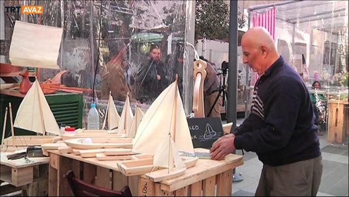 Tersaneden gemi maketçiliğine (Video)