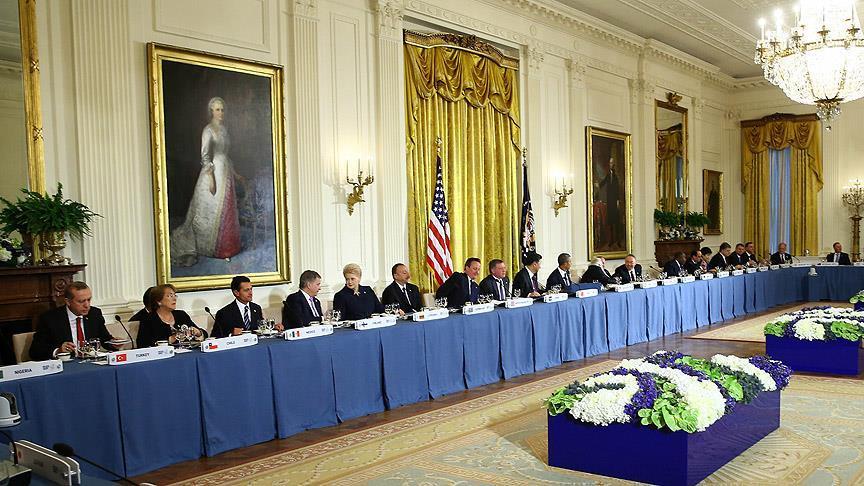 ABD'de Nükleer Güvenlik Zirvesi akşam yemeğiyle başladı