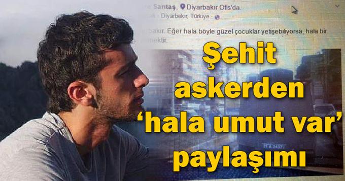 Zırhlı araçtaki Türk bayrağına selam veren Diyarbakırlı çocuk! Sen varsan umut vardır