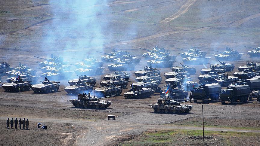 170 Ermeni askeri öldürüldü, 12 zırhlı araç imha edildi