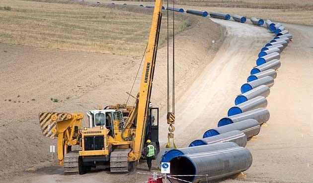 Türk Akım doğalgaz boru hattının hükümetlerarası anlaşması yürürlükte
