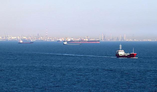 İzmit Körfezi 10 bin 548 gemi ağırladı