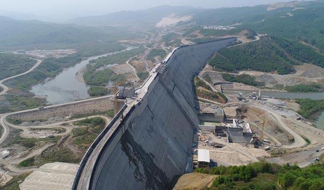 Melen Barajı'nda sona yaklaşıldı