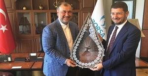 Murat Ülker'den Borsa İstanbul Başkanına teşekkür