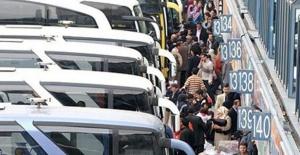 Bayram tatili öncesi otobüs biletleri tükendi