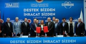 TİM ve Türk Eximbank arasında kaynak kullanımı protokolü