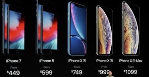 iPhone sonunda fiyatı üçe katladı