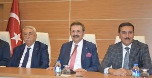TOBB Başkanı Hisarcıklıoğlu: Bu, kesinlikle atlatılacak bir şey