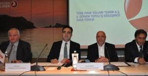 THY Teknik AŞ'de Toplu İş Sözleşmesi İmza Töreni