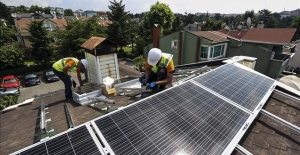 Çatılarda 600 milyon dolarlık güneş santralleri olacak